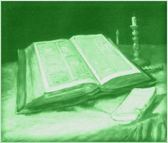 Picture of a open Bible