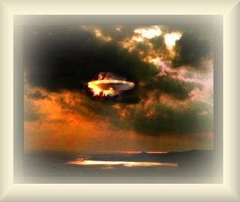 Picture of what Ezekiel saw - those flying vehicles - highly colored bronze